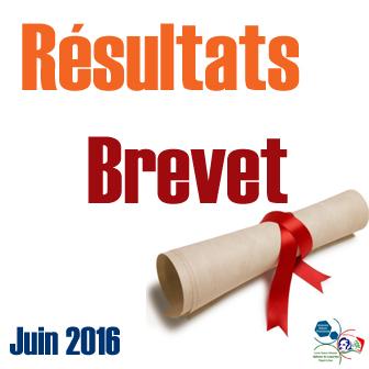 RÉSULTATS DU BREVET LIBANAIS ET DU BREVET FRANÇAIS (DNB) – SESSION 2016