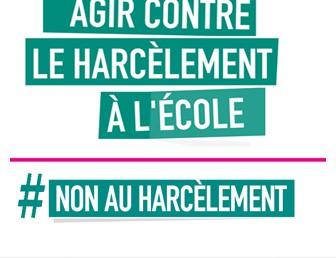 CAMPAGNE DE PRÉVENTION CONTRE LE HARCÈLEMENT