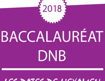 CALENDRIERS DES EXAMENS – SESSION 2018