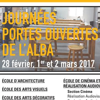 JOURNÉES PORTES OUVERTES 2017 À L'ALBA