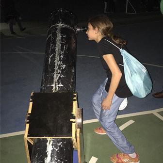 UNE VEILLÉE ASTRONOMIE