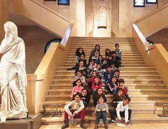 LES CM1 AU MUSÉE NATIONAL DE BEYROUTH
