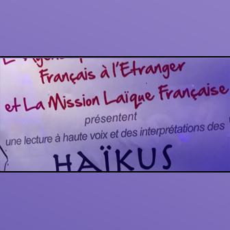 LECTURE DE HAÏKUS AU SALON DU LIVRE FRANCOPHONE DE BEYROUTH