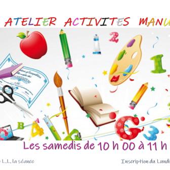 ATELIER ACTIVITÉS MANUELLES