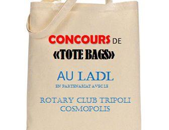 CONCOURS DE « TOTE BAGS » : VIS « PLASTIC FREE », YALLAH !