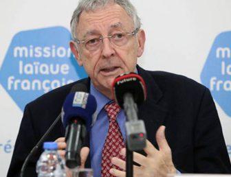 LA MISSION LAÏQUE FRANÇAISE AU LIBAN : CONFÉRENCE DE PRESSE DE M. DEBERRE, DIRECTEUR GÉNÉRAL