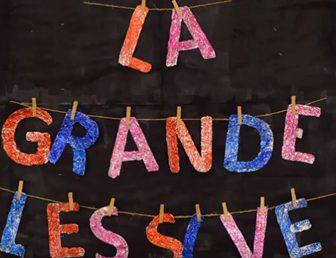 """LA GRANDE LESSIVE DU 28 MARS 2019 """"DE LA COULEUR !"""""""