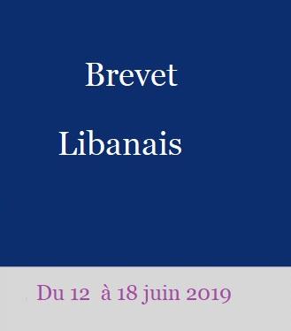 Brevet Libanais 2019