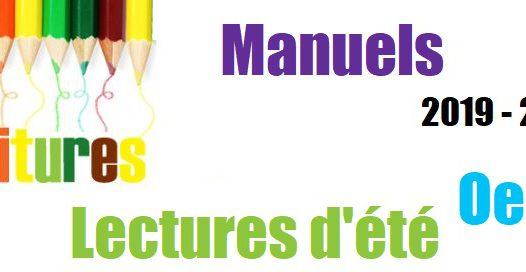 Manuels et fournitures scolaires Primaire et Maternelle 2019-2020