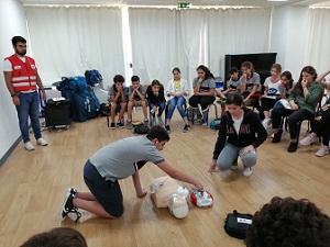 Préparation aux gestes de premiers secours