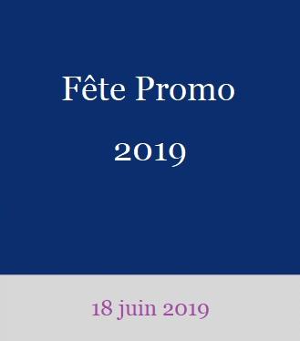 Fête de Promo et remise des diplômes 2019