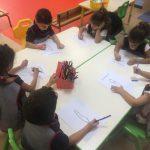 Les séances d'arabe en MS
