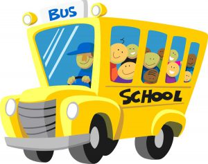 Message concernant le transport scolaire.
