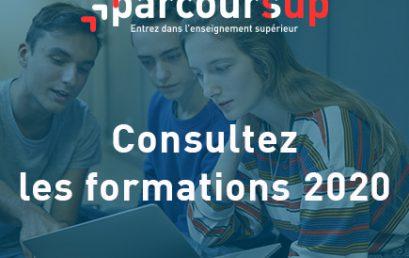 Orientation post-bac en France, OUVERTURE DU SITE D'INFORMATION PARCOURSUP.FR 2020