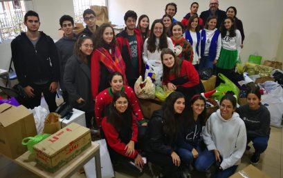 Solidarité avec l'association Ajialouna par les élèves de terminales
