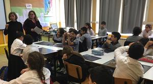 Les élèves des classes de CM2 découvrent les droits de l'enfant