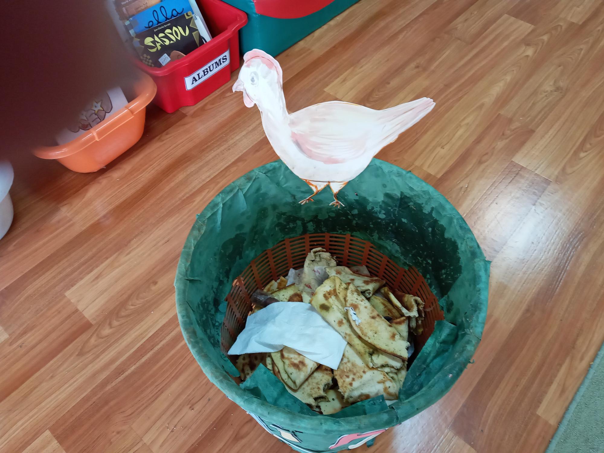 Plus de gaspillage, réduisons nos poubelles.