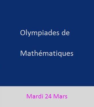 Olympiades de Mathématiques