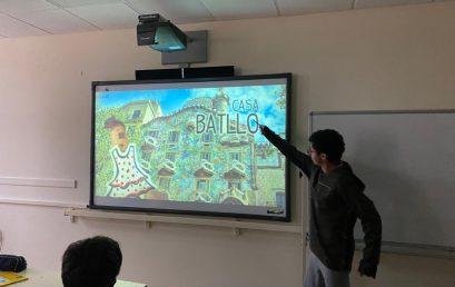 les élèves de seconde présentent les villes Espagnoles