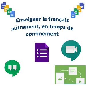 Enseigner le français autrement, en temps de confinement