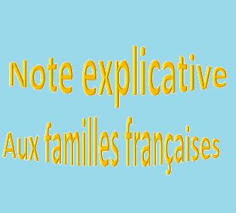 Adaptation du dispositif des bourses-Nouvelles mesures-Note explicative aux familles françaises