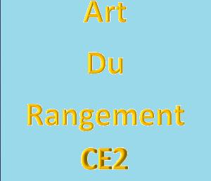 L'art du rangement par les CE2