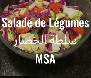 Les Salades de légumes des MSA