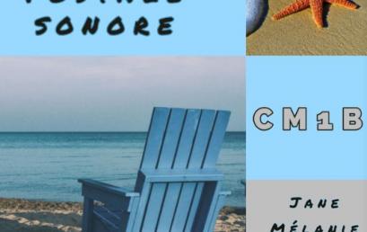 Les cartes postales sonores des CM1B