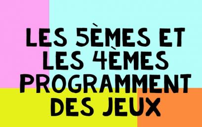 Maths: Programmation au collège