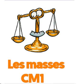Les mesures de masse en CM1