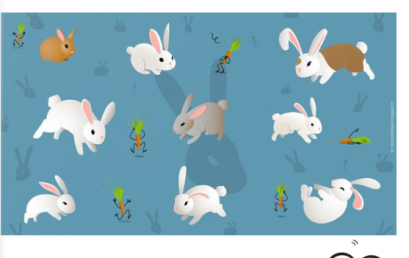 """Les GS récitent le poème """"j'ai un petit lapin"""""""