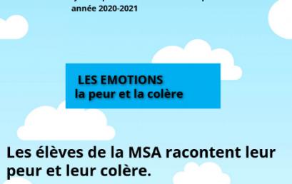 Les émotions des MSA