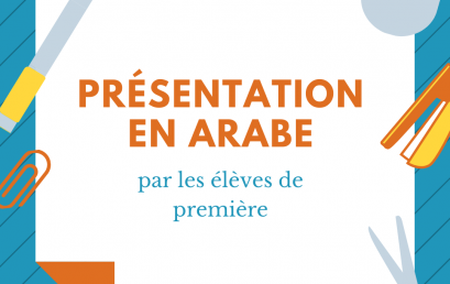 Nouveaux programmes en arabe: Identités et échanges