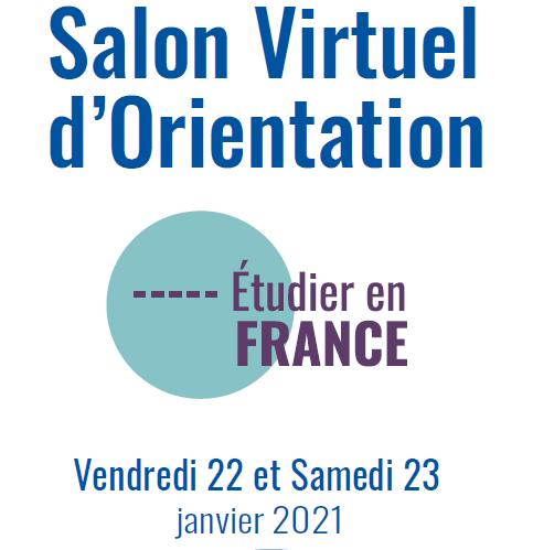 1er Salon virtuel des études supérieures en France