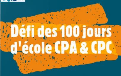 Le 100e jour d'école en CP!!!