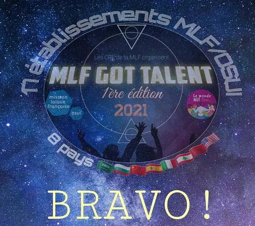Les résultats du concours MLF GOT TALENT 2021