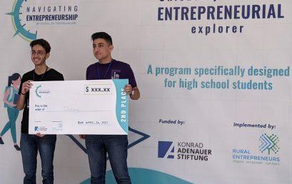1erprix au Liban nord, 2ème prix sur l'ensemble du Liban: notre élève Toufic Batache se distingue!