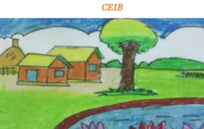 Le printemps dessiné par les CE1B