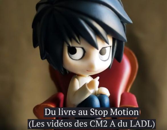 Du livre au Stop Motion